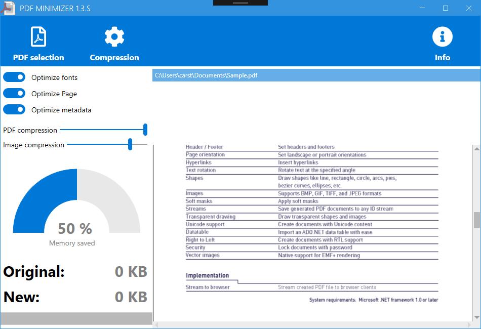 PDF Minimizer